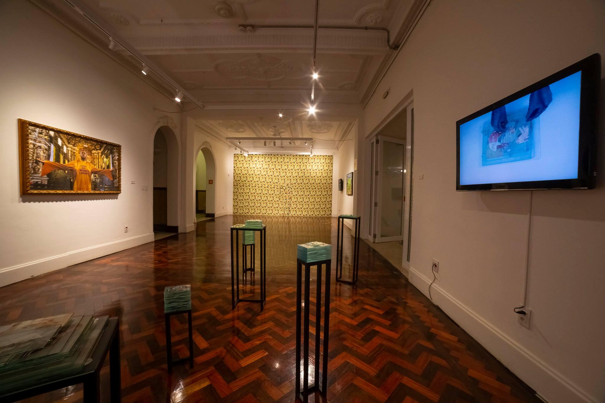 Galeria do Goethe-Institut Salvador   Festival Híbrido   Foto Caio Lírio   exemplo de evento híbrido